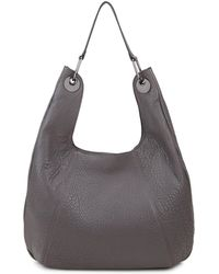 Vince Camuto - Pebbled Leather Hobo Bag - Lyst