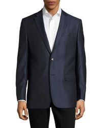 Versace - Giacca Solid Two-button Jacket - Lyst
