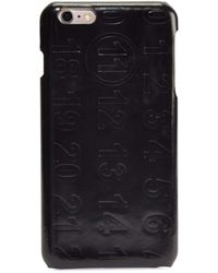 Maison Margiela - Numbers Leather Iphone 6 Case - Lyst