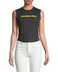 Wildfox - Sunshine Diet Top - Lyst