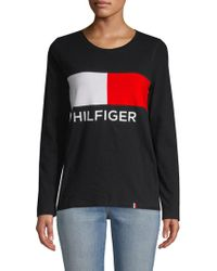 Tommy Hilfiger - Logo Pullover - Lyst