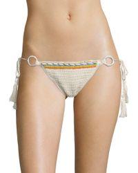 Anna Kosturova - Savannah Crochet Bikini Bottom - Lyst