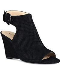 Nine West - Gorana Wedge Sandals - Lyst