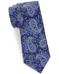 Saks Fifth Avenue - Paisley Silk Tie - Lyst