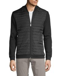 Perry Ellis - Quilted Bomber Jacket - Lyst