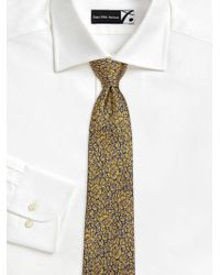 Saks Fifth Avenue - Collection Textured Floral Silk Tie - Lyst