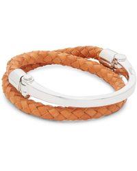 Miansai - Rovos Half-cuff Leather Bracelet - Lyst