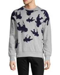 PRPS - Contrast Pullover Sweater - Lyst