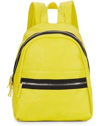 Kensie - Faux Leather Backpack - Lyst