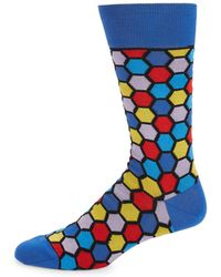 Bugatchi - Multi-color Socks - Lyst
