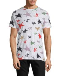 Antony Morato - Men's Star-print Slub T-shirt - Lyst