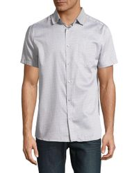 Karl Lagerfeld - Printed Button-down Shirt - Lyst