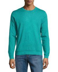 Saks Fifth Avenue - Silk, Cotton & Cashmere Crewneck Jumper - Lyst