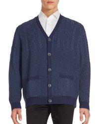 Bugatchi - Long Sleeve Rib-knit Jumper - Lyst