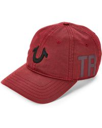True Religion - Embroidered Logo Baseball Cap - Lyst