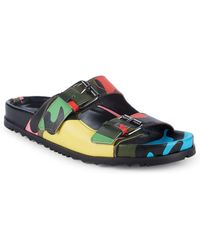 Valentino - Camouflage Sandals - Lyst