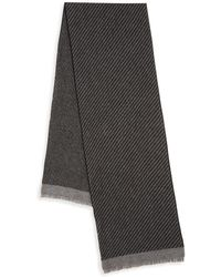 Saks Fifth Avenue - Patterned Cashmere Scarf - Lyst