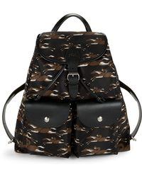 Longchamp - Classic Printed Backpack - Lyst