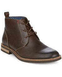 Original Penguin - Monty Leather Chukka Boots - Lyst