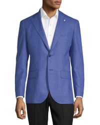 Lubiam - Chambray Suit Jacket - Lyst