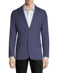 Ben Sherman - Slim Fit Dotted Two-button Sport Coat - Lyst