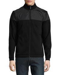 BOSS - Textured Rib Jacket - Lyst