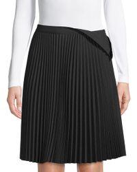 Balenciaga - Midi Pleated Skirt - Lyst