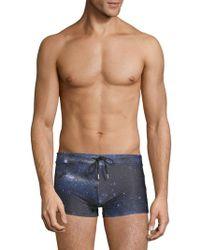 2xist - Universe Print Cabo Swim Trunks - Lyst