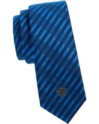 Versace - Cravette Striped Tie - Lyst
