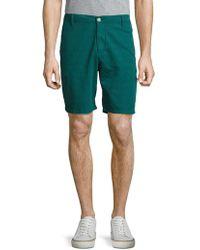 Eidos - Cotton Shantung Shorts - Lyst