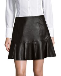 Rebecca Taylor | No-waistband Flared Skirt | Lyst