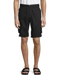 Buffalo David Bitton - Cotton Cargo Shorts - Lyst