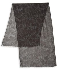 Valentino - Cashmere-blend Butterfly Scarf - Lyst