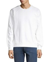 7 For All Mankind - Raglan-sleeve Cotton Jumper - Lyst
