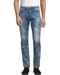 Buffalo David Bitton - Ash Faded Stretch Jeans - Lyst