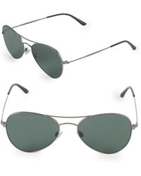 Giorgio Armani - 54mm Aviator Sunglasses - Lyst