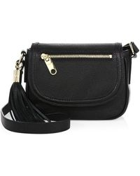 MILLY - Astor Small Leather Saddle Bag - Lyst