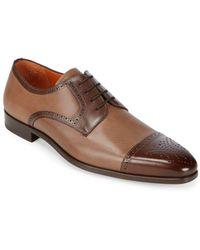 Mezlan - Moseley Leather Derbys - Lyst