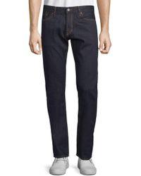 Jean Shop - Slim Cotton Jeans - Lyst