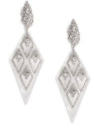 Alexis Bittar - Crystal & Lucite Drop Earrings - Lyst