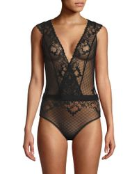 Addiction Nouvelle Lingerie - Lace Bodysuit - Lyst