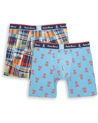 Psycho Bunny - 2-pack Printed Boxer Briefs - Lyst