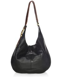 Frye - Jacqui Whipstitch Leather Hobo Bag - Lyst