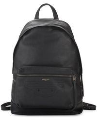 Balenciaga - Textured Leather Backpack - Lyst