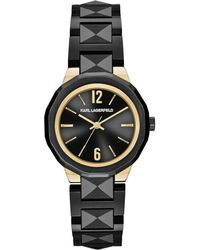 Karl Lagerfeld - Joleigh Stainless Steel Bracelet Watch - Lyst