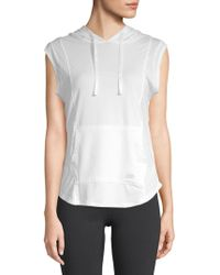 Balance Collection - Breeze Sleeveless Hoodie - Lyst
