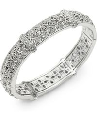 Adriana Orsini - Pavà Filigree Bangle Bracelet - Lyst