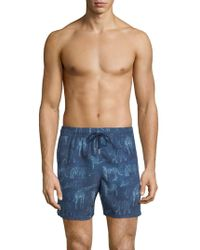 Jared Lang - Animal-print Swim Shorts - Lyst