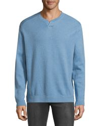 Tommy Bahama - New Flip Side Pro Abaco Splitneck Sweatshirt - Lyst
