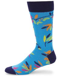 Bugatchi - Multicolour Pattern Socks - Lyst